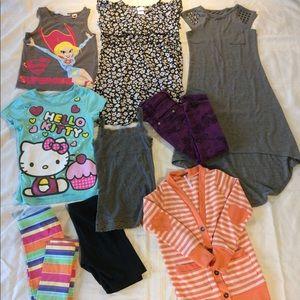 Dresses - Girls 9 piece Bundle Lot